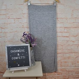 Wilfred Free Gray Maxi Skirt Size Small D1